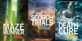 "Image for ""''Maze Runner Trilogy 3 Book set: The Maze Runner, The Scorch Trials, The Death Cure by James Dashner''"""