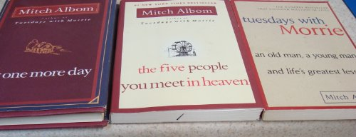 Image for Mitch Albom 3 Book Set (For One More Day; Tuesdays with Morrie; The Five People You Meet in Heaven)