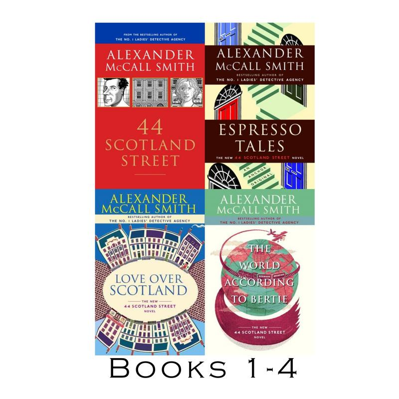Image for 44 SCOTTLAND STREET Series by Alexander McCall Smith LARGE Paperback Set 1-4 by Alexander McCall Smith