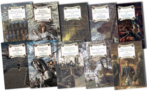 "Image for ""C S Forester Hornblower Saga 11 Books Collection Pack Set RRP: £87.89 (Mr.Midshipman Hornblower, Lieutenant Hornblower, Hornblower and the Hotspur, Hornblower during the Crisis, Hornblower and the Atropos, Beat to Quarters, Ship of the Line, Flying Colou"""
