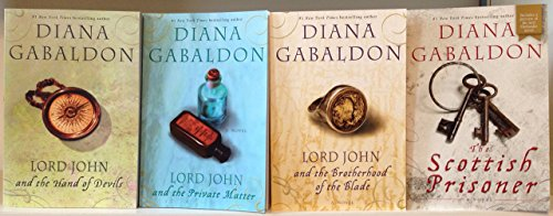 "Image for ""Diana Gabaldon Lord John Series Complete Set [Lord John and the Private Matter, The Brotherhood of the Blade, The Hand of the Devil, and The Scottich Prisoner] Outlander Series Author"""