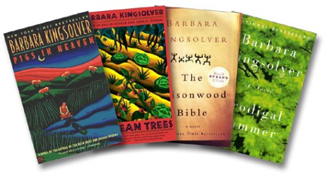 "Image for ""''Kingsolver Fiction Collection Four-Book Set (Pigs in Heaven, Bean Trees, Poisonwood Bible, Prodigal Summer)''"""