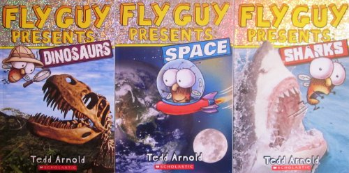 "Image for ""''Fly Guy Pack, Fly Guy Presents: Space, Fly Guy Presents: Dinosaurs, Fly Guy Presents: Sharks''"""