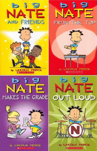 "Image for ""''Big Nate Pack: Includes: Big Nate and Friends, Big Nate Makes the Grade, Big Nate: From the Top, and Big Nate Out Loud. (Big Nate)''"""