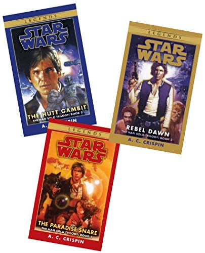 "Image for ""''Star Wars Han Solo Trilogy Set: The Paradise Snare, The Hutt Gambit, Rebel Dawn''"""