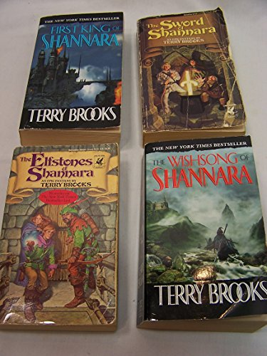 "Image for ""Shannara 4 vol set: First King, Sword, Elfstones, Wishsong"""