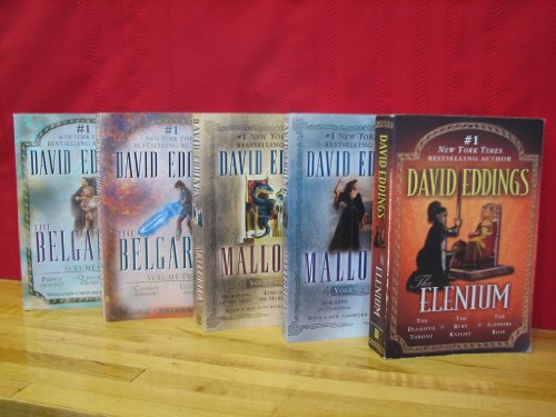 "Image for ""''David Eddings Collection, 3 Complete Series in 5 Volumes Set: The Belgariad Series; The Malloreon Series; The Elenium Series. All 5 Volumes are Omnibus (compiled) Editions (The Belgariad: Volume 1: Pawn of Prophecy; Queen of Sorcery; Magician's Gambi''"""