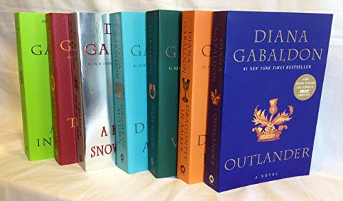 "Image for ""The Outlander Series 7-Book Paperback Set Diana Gabaldon: Outlander, Dragonfly in Amber, Voyager, Drums of Autumn, The Fiery Cross, A Breath of Snow and Ashes, An Echo in the Bone"""