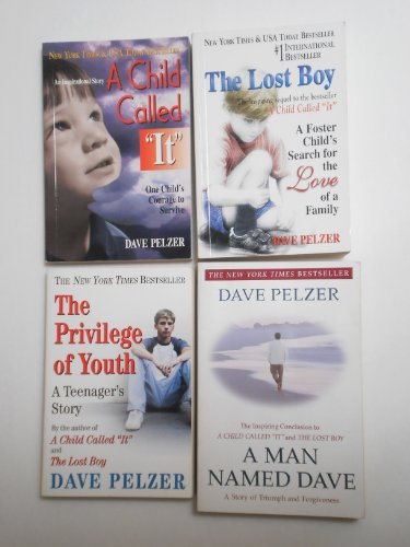 "Image for ""''Dave Pelzer Set 4 Books. A Man Named Dave, A Child Called It, The Lost Boy, The Privilege of Youth''"""