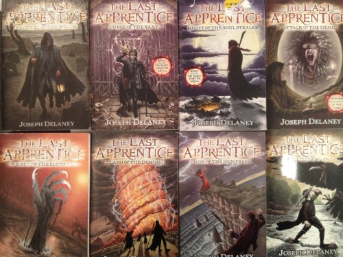 "Image for ""''The Last Apprentice Series - Books 1-8 by Joseph Delaney - Revenge of the Witch, Curse of the Bane, Night of the Soul Stealer, Attack of the Fiend, Wrath of the Bloodeye, Clash of the Demons, Rise of the Huntress & Rage of the Fallen''"""