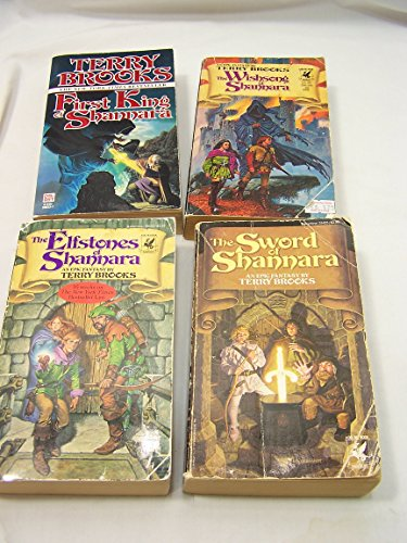 "Image for ""Shannara Trilogy Set + Prequel: First King, Sword of, Elfstones, Wishsong"""