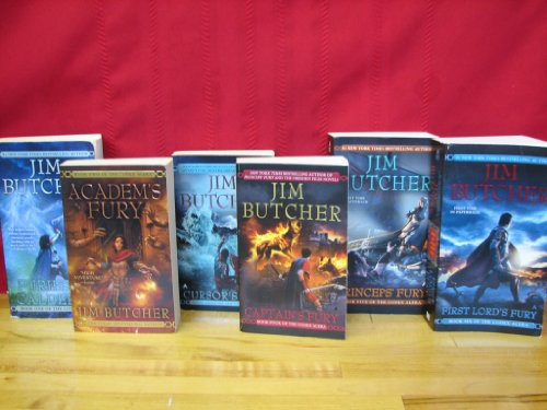 "Image for ""Codex Alera Series Complete Set, 6 Book Collection, By Jim Butcher, Volumes 1-6 (Furies of Calderon / Academ's Fury / Cursor's Fury / Captain's Fury / Princep's Fury / First Lord's Fury)"""
