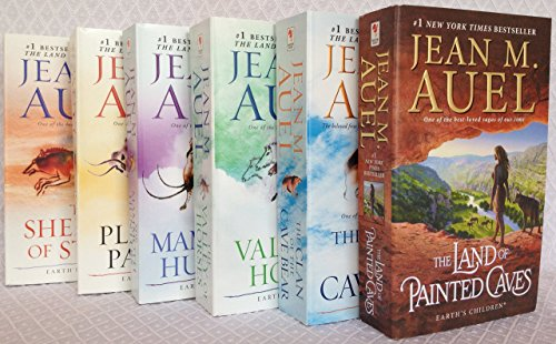 "Image for ""The Complete Jean M. Auel Earth's Children Series Six Book Set [Clan of the Cave Bear, Valley of the Horses, Mammoth Hunters, Plains of Passage, Shelters of Stone, and Land of Painted Caves]"""