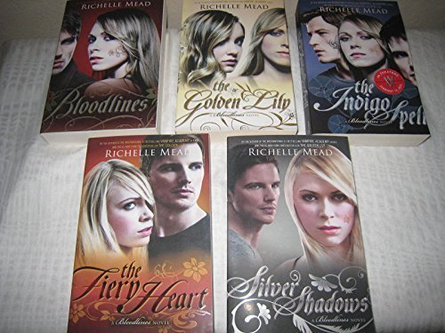 "Image for ""''Books 1-5 of Richelle Mead's Bloodlines Series (Set Includes: Bloodlines, The Golden Lily, The Indigo Spell, The Fiery Heart, and Silver Shadows)''"""