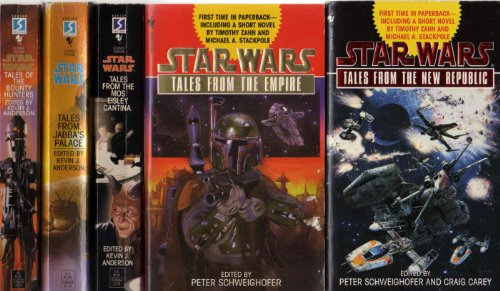 "Image for ""''Star War: Tales from... (Tales From The Empire, Tales From The Mos Eisley Cantina, Tales From The New Republic, Tales From The Bounty Hunters & Tales From Jabba's Palace, 5 paperbacks)''"""