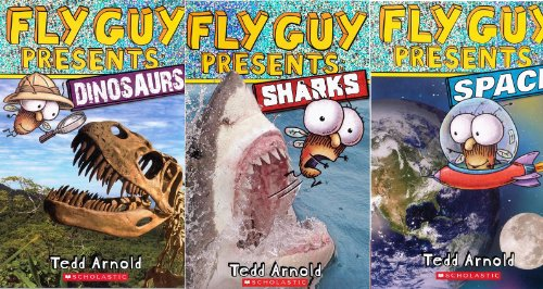 Image for FLY GUY Presents 3 Book Set: Fly Guy Presents: Dinosaurs / Fly Guy Presents: Space / Fly Guy Presents: Sharks
