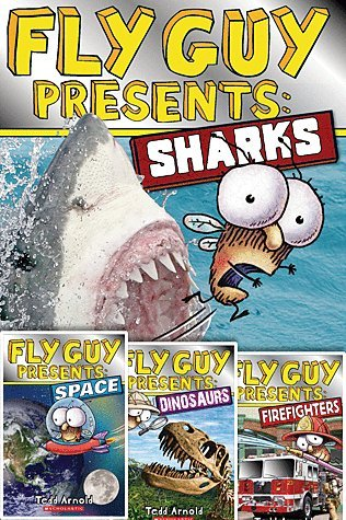 "Image for ""''Fly Guy Presents 4 Book Set: Fly Guy Presents Dinosaurs, Fly Guy Presents Space, Fly Guy Presents Sharks, Fly Guy Presents Firefighters''"""