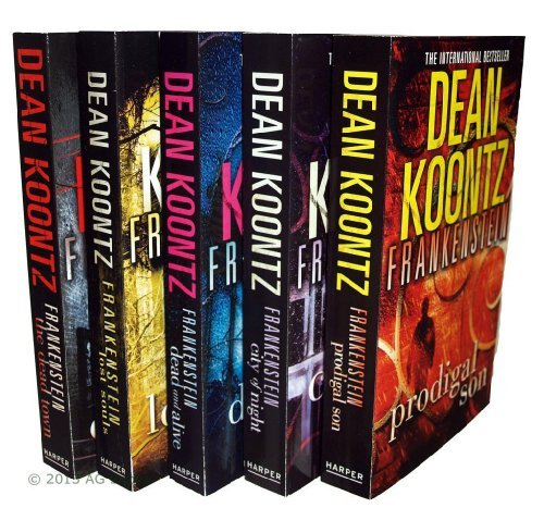 Image for Dean Koontz Frankenstein Series - 5 books: Prodigal Son / City of Night / Dead And Alive / Lost Souls / The Dead Town rrp £39.95