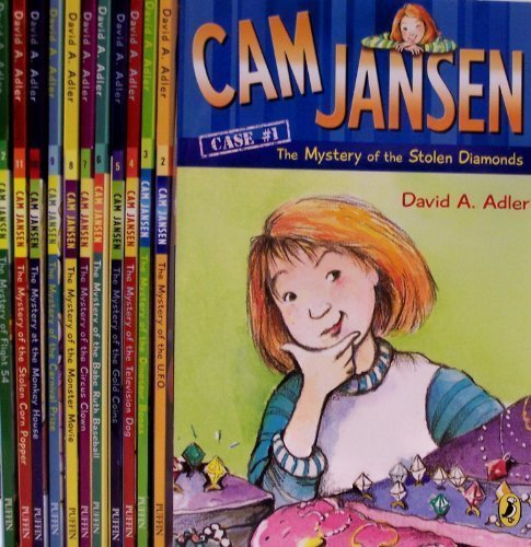 Image for Cam Jansen Series 12 Book Mystery Set