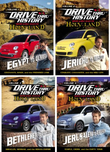Image for Drive Thru History Holy Land Series with Dave Stotts Set of 4 Volume 1-4 Episodes 1-12