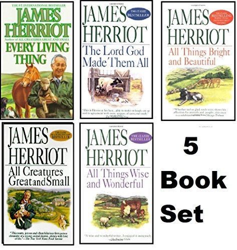 Image for James Herriot's 5 Book Set: All Creatures Great and Small / All Things Bright and Beautiful / All Th