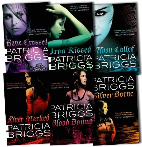 "Image for ""Mercy Thompson Collection Patricia Briggs 6 Books Set Pack RRP: £49.72 (Moon Called, Blood Bound, Iron Kissed, Silver Borne, River Marked, Bone Crossed)"""
