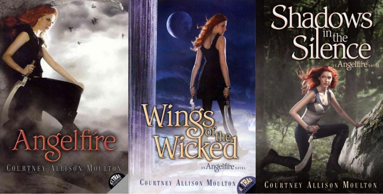 Image for Angelfire Trilogy 1-3 TP by Courtney Allison Moulton