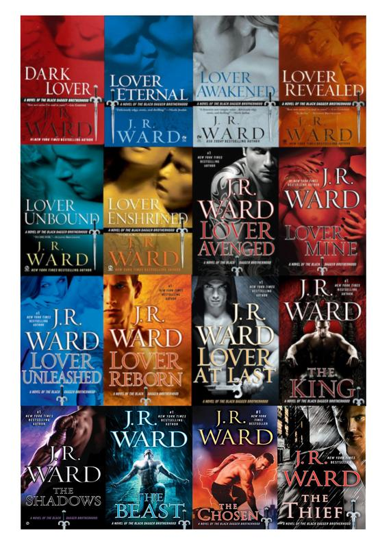 Image for BLACK DAGGER BROTHERHOOD Paranormal Series by J.R. Ward Set of Books 1-16 by J R Ward