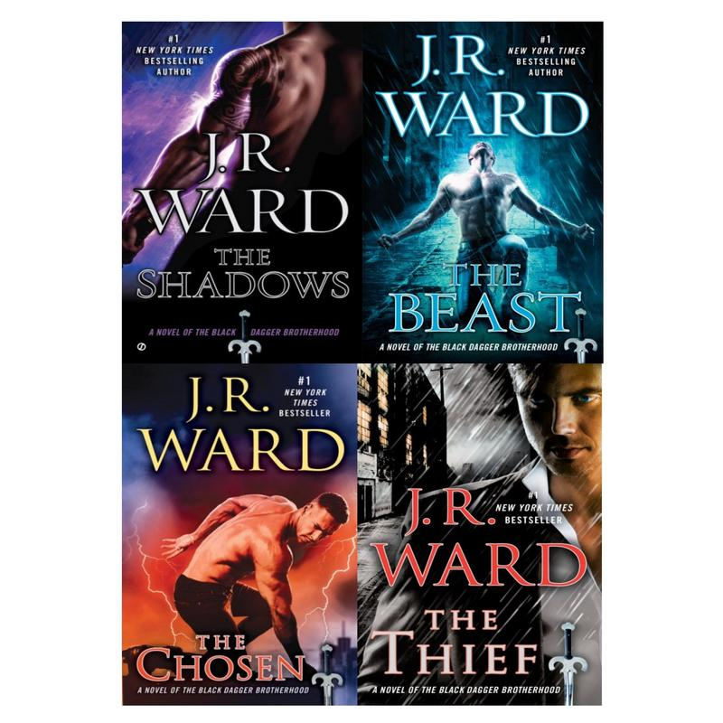 Image for BLACK DAGGER BROTHERHOOD Paranormal Series by J.R. Ward Set of Books 13-16 by J R Ward