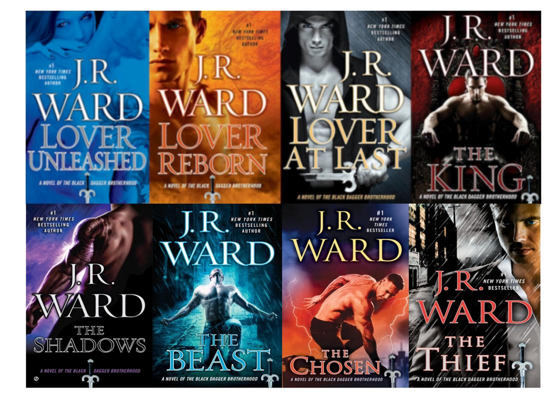 Image for BLACK DAGGER BROTHERHOOD Paranormal Series by J.R. Ward Set of Books 9-16 by J R Ward