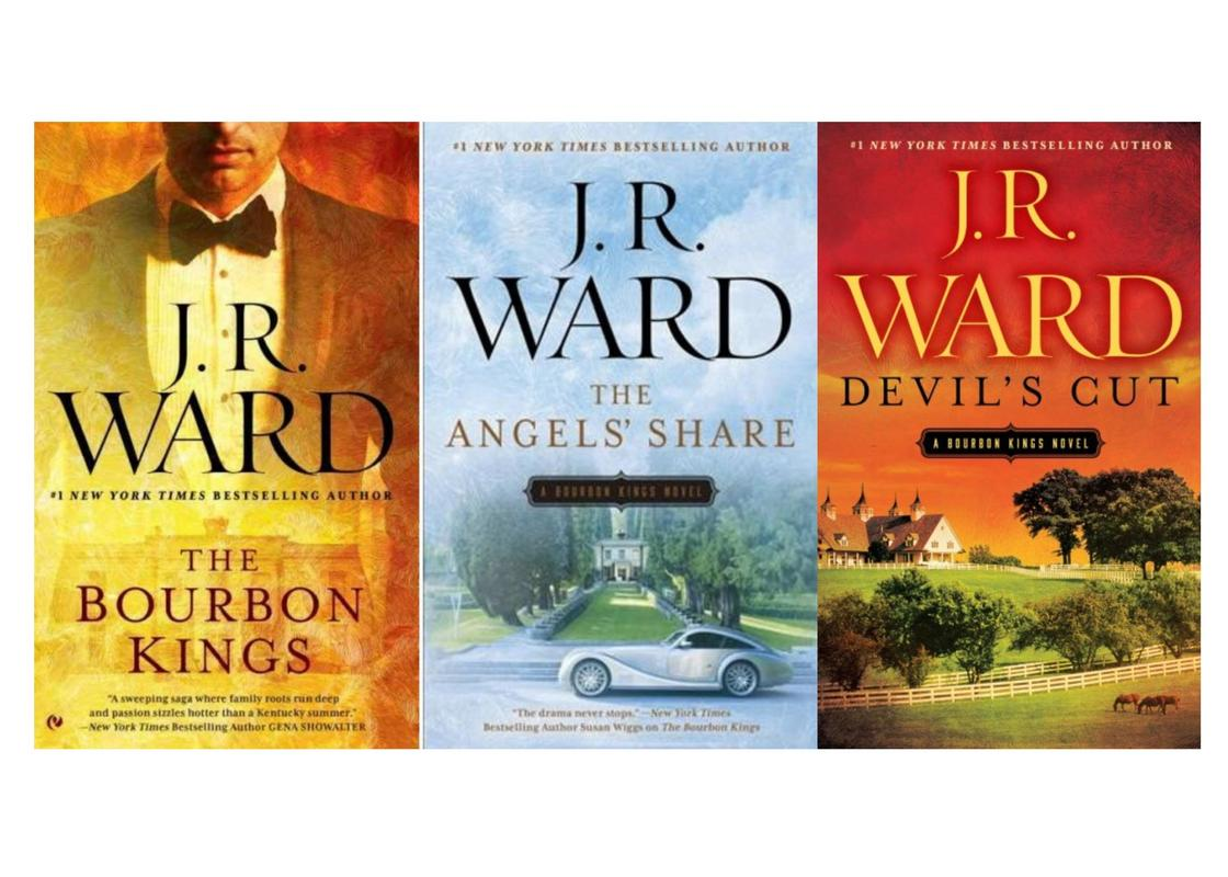 Image for BOURBON KINGS Series Collection by J.R. Ward Set of Paperback Books 1-3 by J R Ward