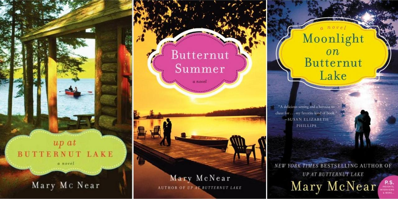 Image for BUTTERNUT LAKE Fiction Series by Mary McNear LARGE TRADE PAPERBACKS 1-3 by Mary McNear