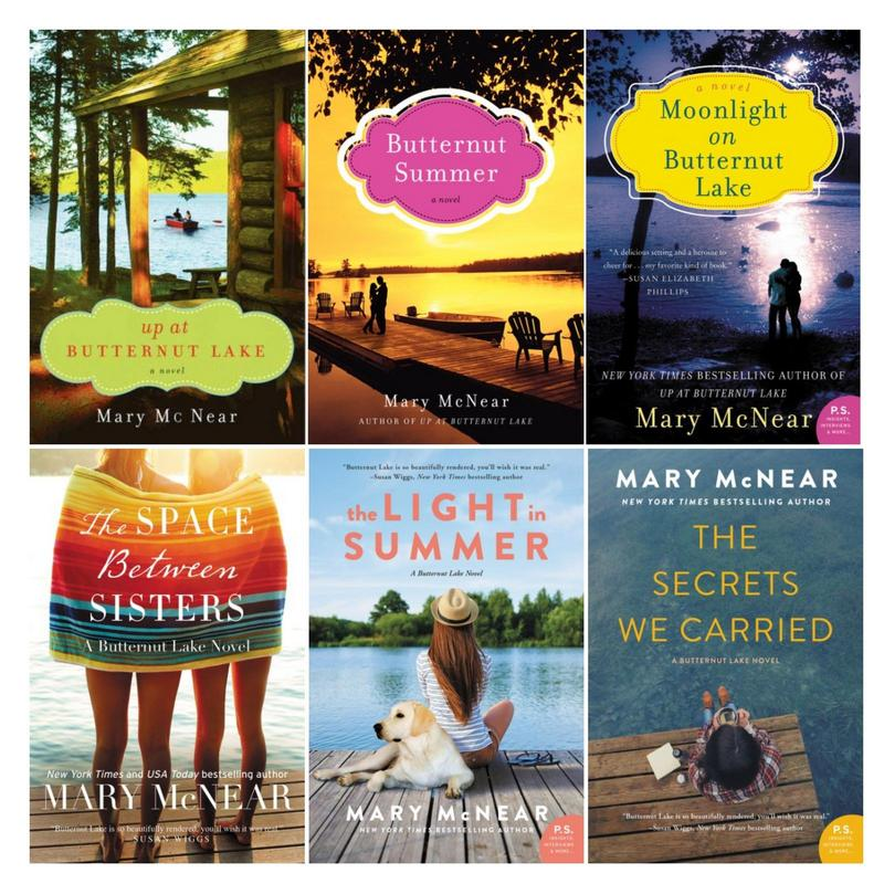 Image for BUTTERNUT LAKE Fiction Series by Mary McNear LARGE TRADE PAPERBACKS 1-6 by Mary McNear