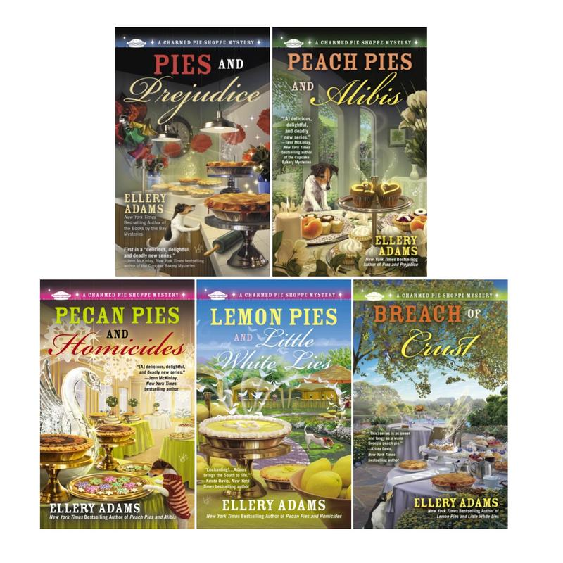 Image for CHARMED PIE SHOPPE Mystery Series by Ellery Adams PAPERBACK Set of Books 1-5 by Ellery Adams