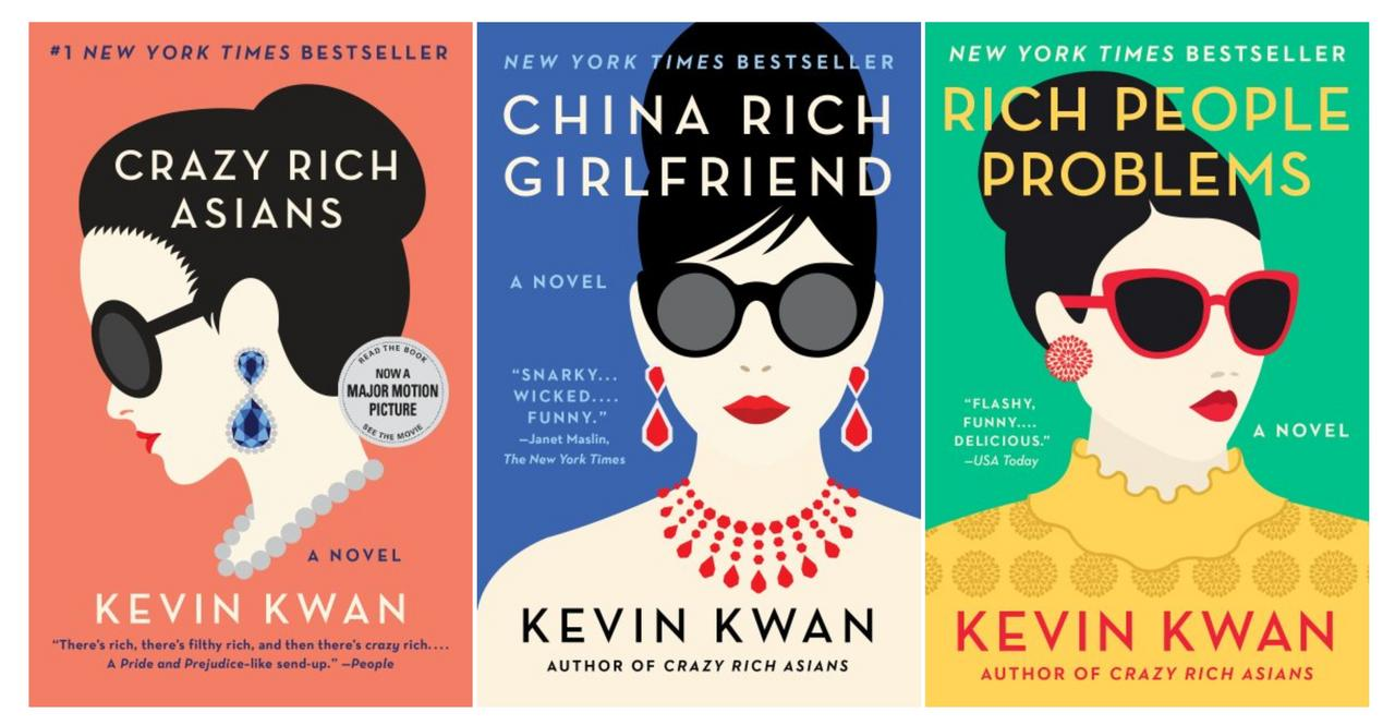 Image for CRAZY RICH ASIANS TRILOGY Humor Series by Kevin Kwan LARGE TRADE PAPERBACKS 1-3 by Kevin Kwan