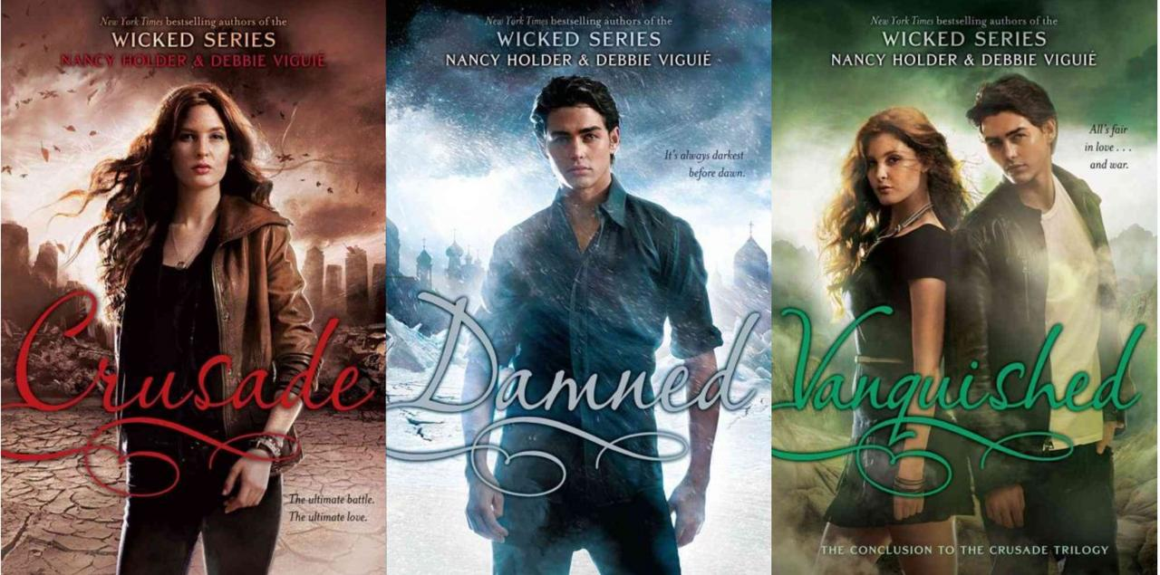 Image for Nancy Holder CRUSADE TRILOGY Young Adult Romance Series Collection Set Books 1-3 by Nancy Holder