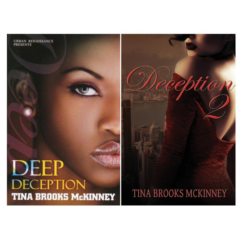 Image for DECEPTION Urban Fiction Series by Tina Brooks McKinney Set LARGE PAPERBACKS 1-2 by Tina Brooks McKinney