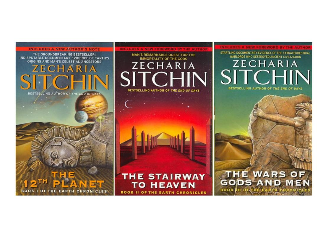 Image for Zecharia Sitchin Nibiru Earth Chronicles Series Collection Set of Books 1-3 NEW! by Zecharia Sitchin