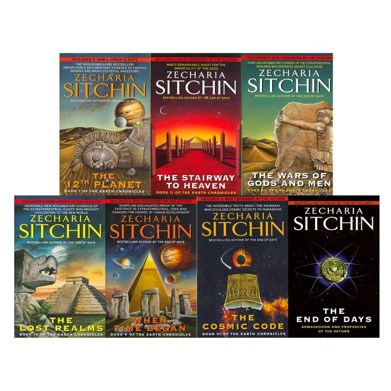 Image for Zecharia Sitchin Nibiru Earth Chronicles Series Collection Set of Books 1-7 NEW! by Zecharia Sitchin