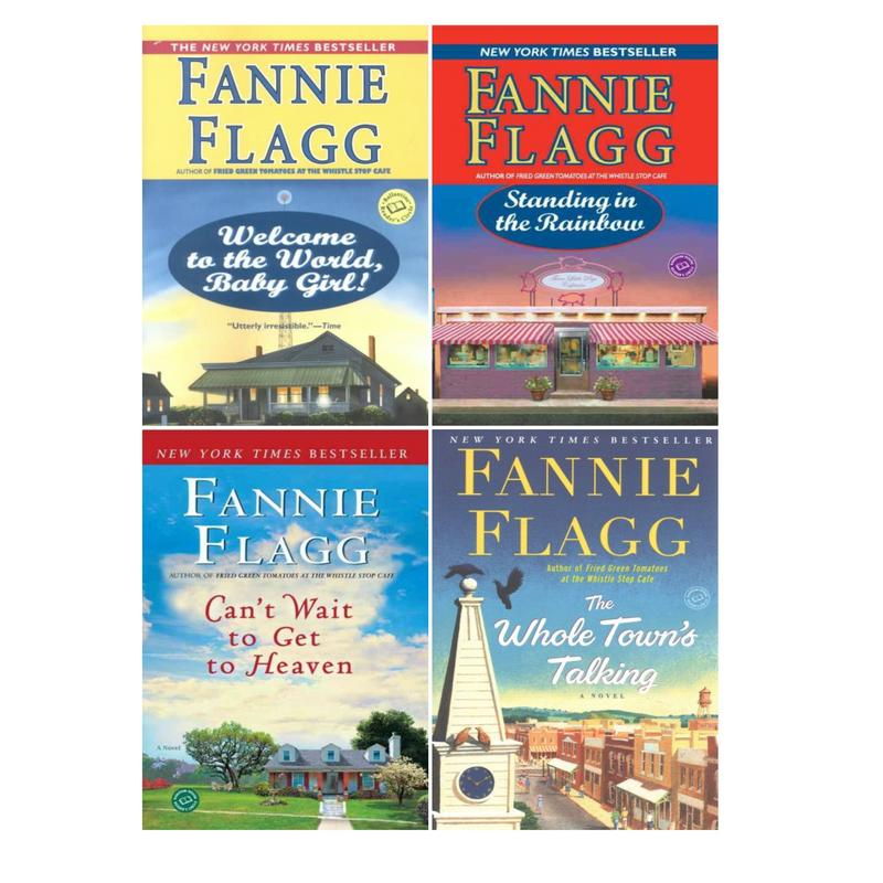 Image for ELMWOOD SPRINGS Women's Humor Series by Fannie Flag LARGE TRADE PAPERBACKS 1-4 by Fannie Flagg