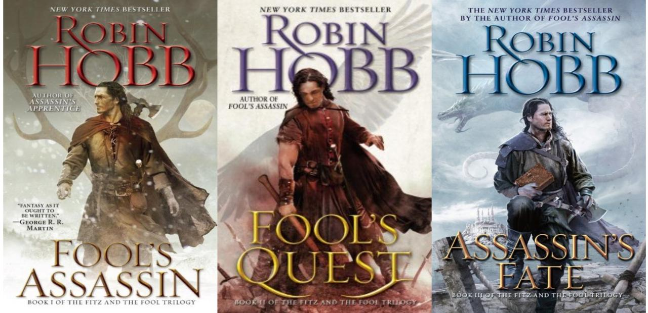 Image for Robin Hobb FITZ AND THE FOOL Fantasy Trilogy Paperback Collection Set Books 1-3 by Robin Hobb