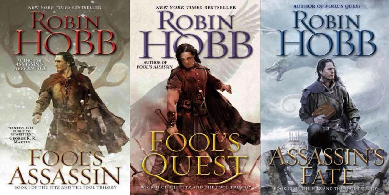 Image for Robin Hobb FITZ & THE FOOL Fantasy Series Trilogy Paperback Collection Books 1-3 by Robin Hobb