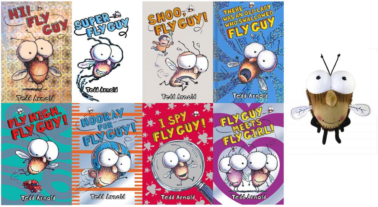 Image for Fly Guy 1-8 HC WITH PLUSH by Tedd Arnold