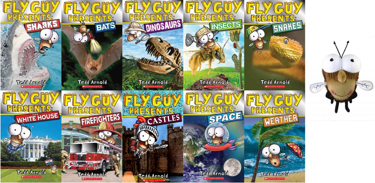 Image for Fly Guy PRESENTS 1-10 CP WITH PLUSH by Tedd Arnold