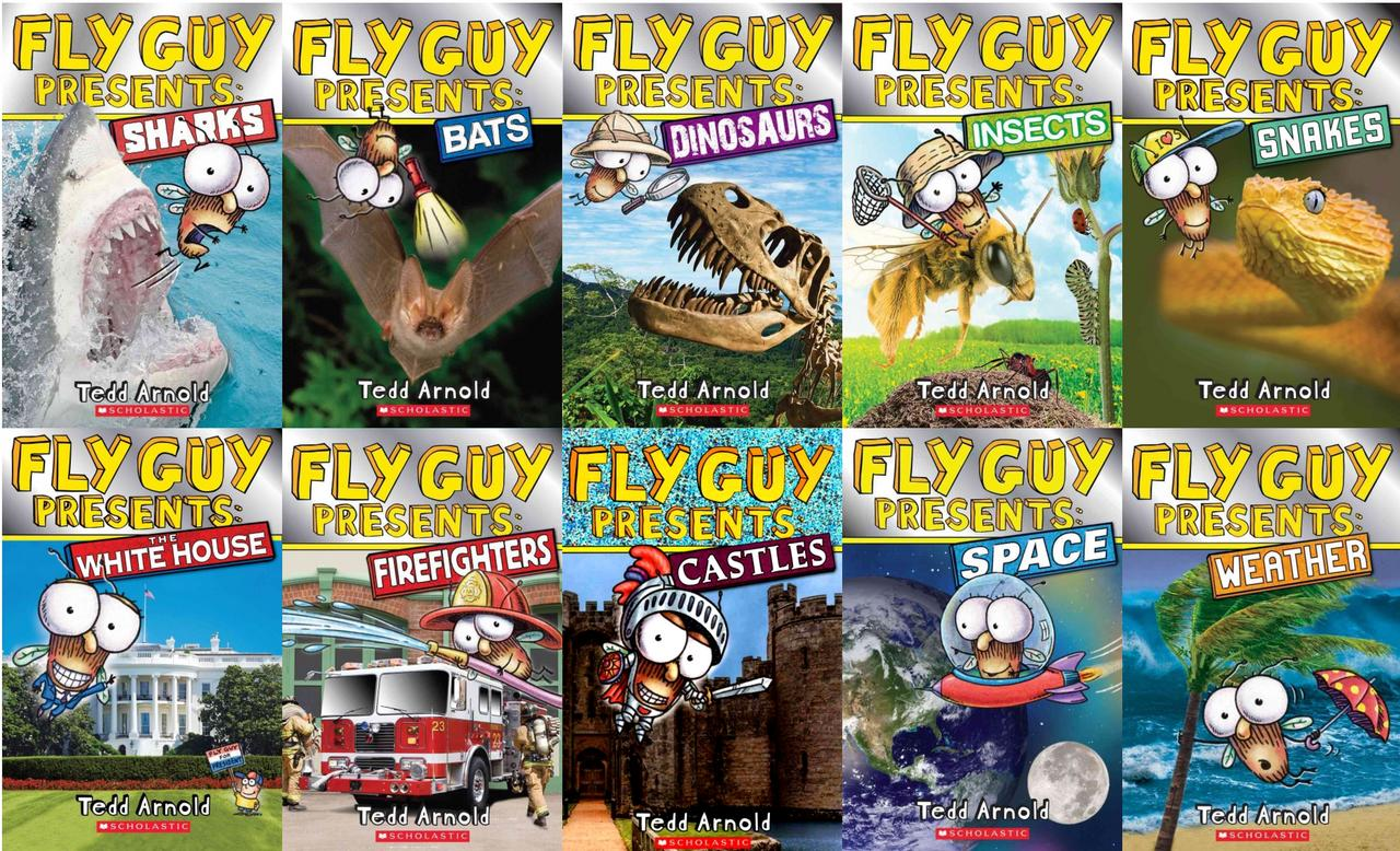 Image for Fly Guy PRESENTS 1-10 CP by Tedd Arnold