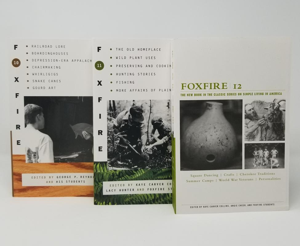 Image for Appalachian Foxfire Series Collection Set of Paperback Books 10-12 BRAND NEW by Foxfire Fund Inc