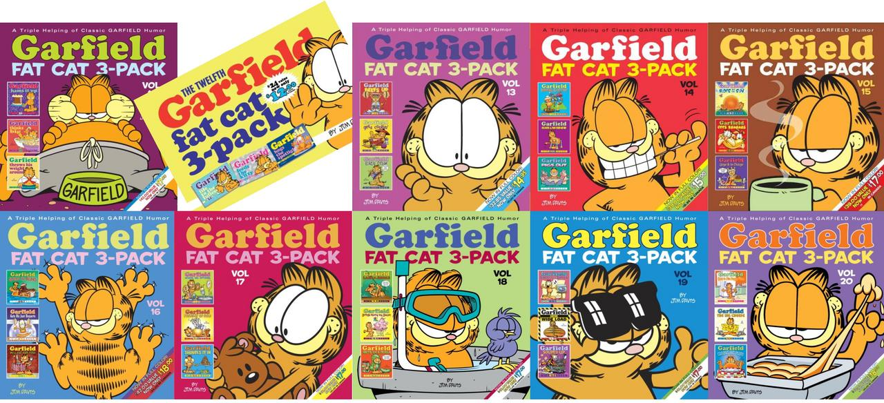 Image for Garfield Fat Cat 3 Pack Collection 11-20 TP