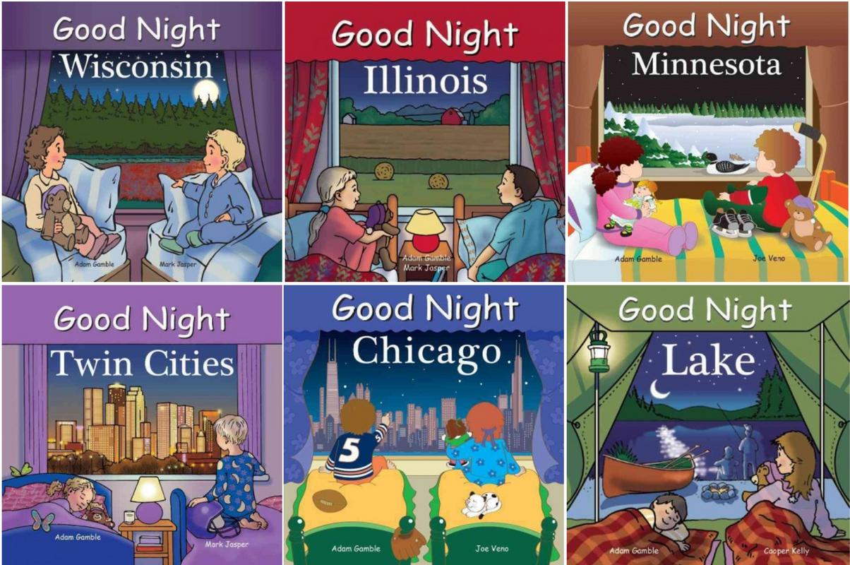 Image for Good Night NORTH CENTRAL USA 1-6 HC by Adam Gamble