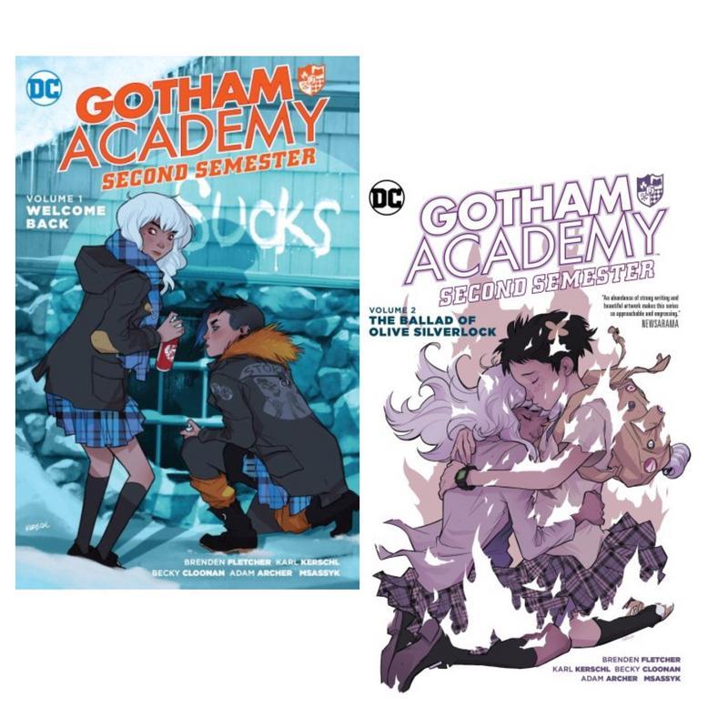 GOTHAM ACADEMY VOLUME 1  WELCOME TO GOTHAM ACADEMY GRAPHIC NOVEL New Paperback