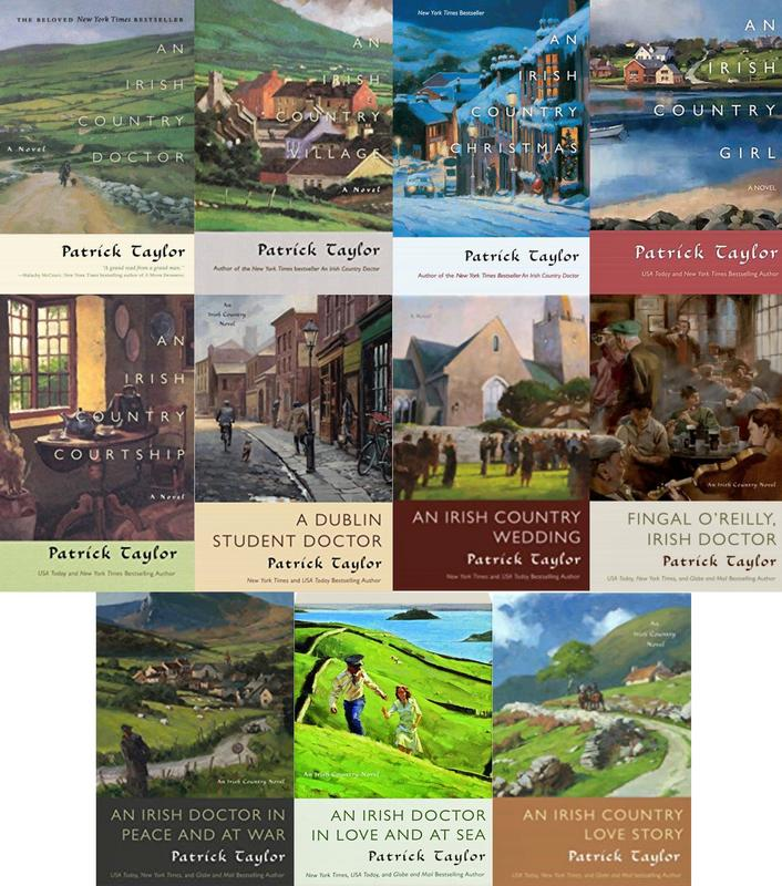Image for IRISH COUNTRY Series by Patrick Taylor LARGE TRADE PAPERBACK Collection 1-11 by Patrick Taylor